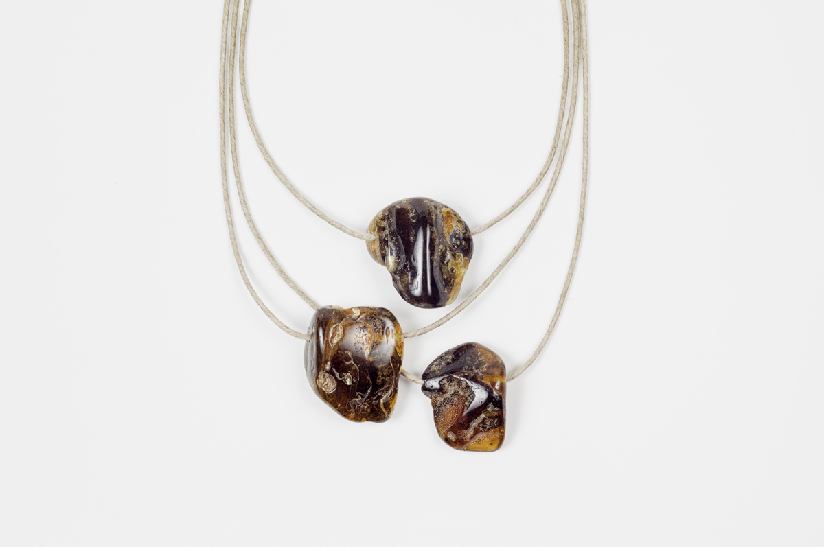 Amber Necklace Les Foins