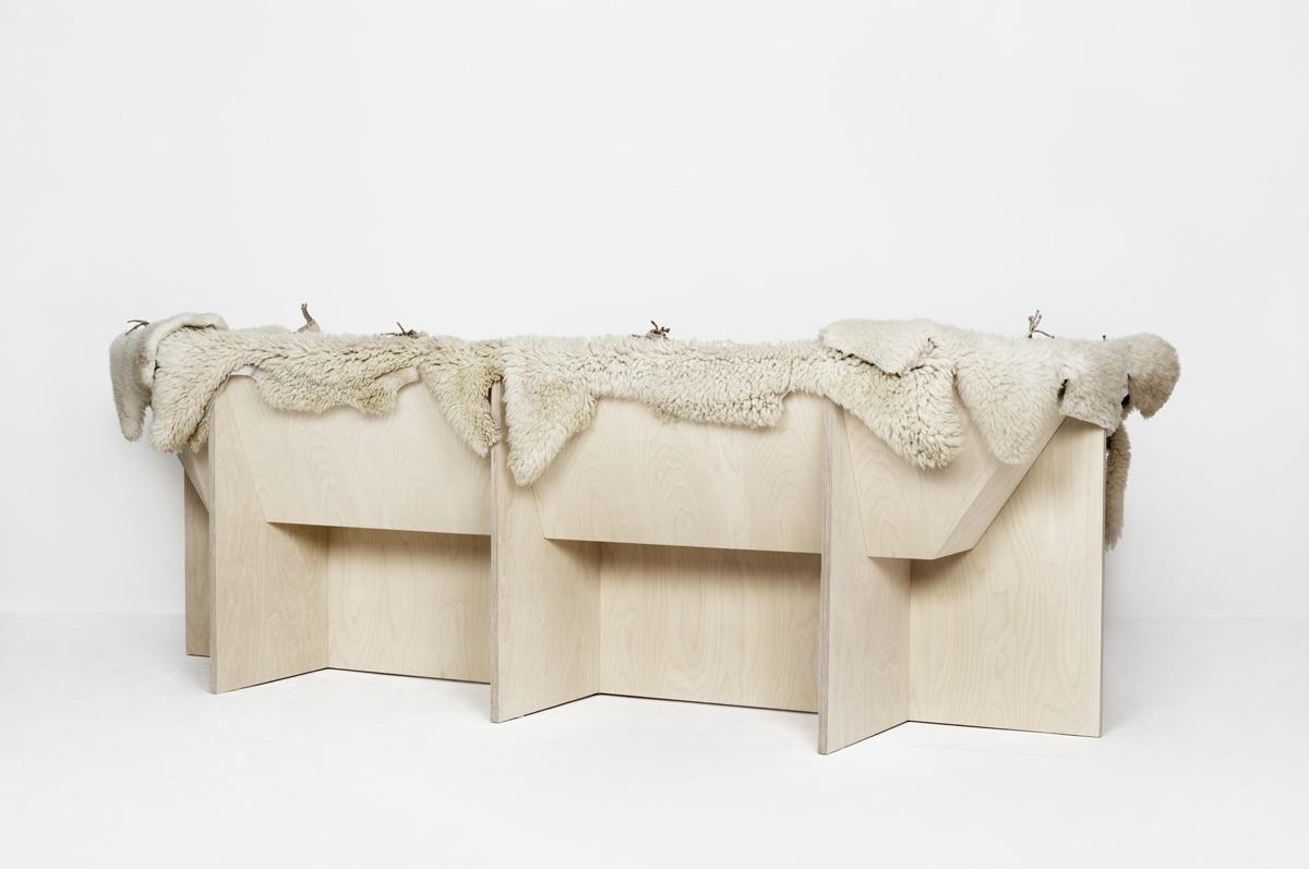 Artisanal sofa