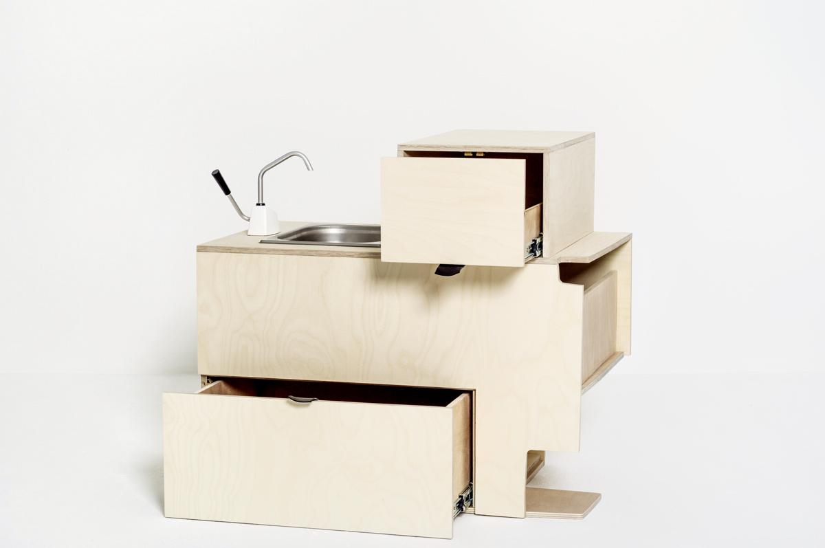 Nomadic small kitchen