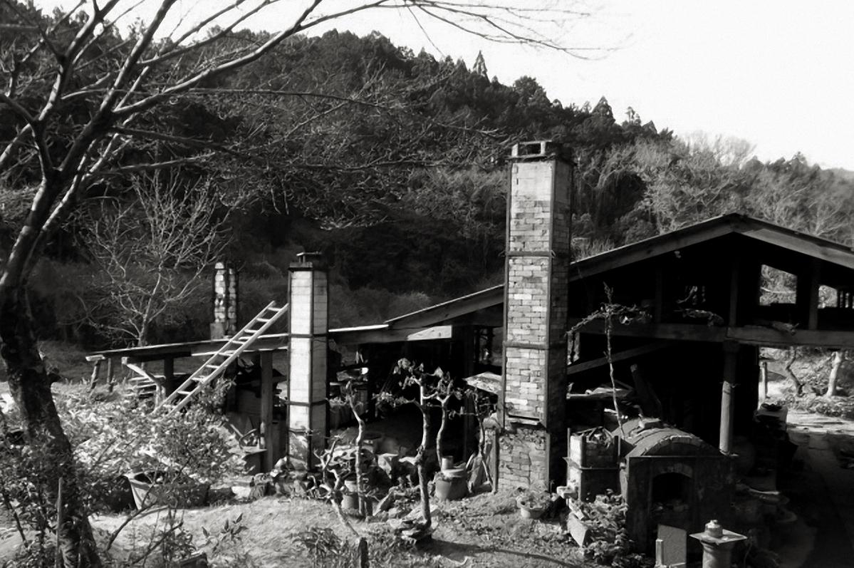 Japanese ceramist studio