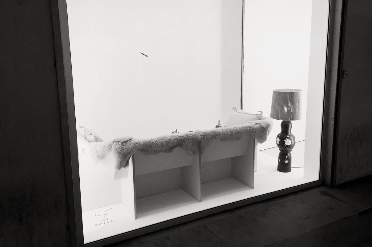 expositions Les Foins Air de Paris La vitrine