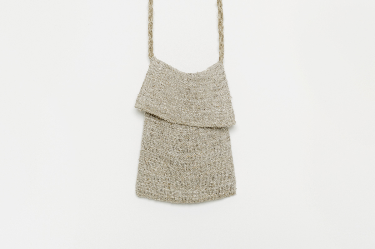 bag in old fabric