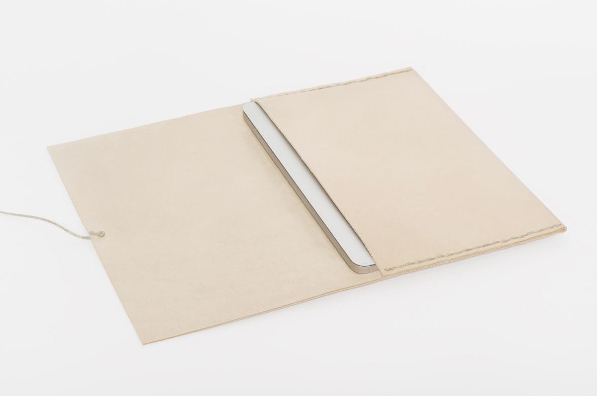 pochette ordinateur cuir